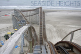 Seaside Heights - Roller Coaster Construction 2