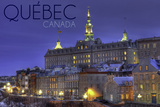Quebec  Canada - Rue Des Remparts