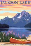 Grand Teton National Park - Jackson Lake