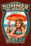 Summer Blonde Golden Ale Pinup Girl
