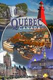 Quebec  Canada - Montage Scenes