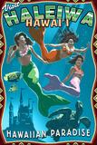 Haleiwa  Hawai'i - Mermaids