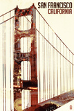 Golden Gate Bridge Double Exposure - San Francisco  CA
