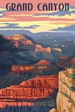 Grand Canyon National Park - Sunset View