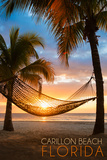Carillon Beach  Florida - Hammock and Sunset