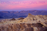 Death Valley National Park - Zabriskie Point and Sunset