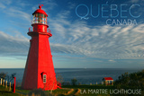 Quebec  Canada - Martre Lighthouse