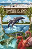 Amelia Island  Florida - Montage