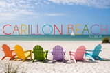 Carillon Beach  Florida - Colorful Beach Chairs