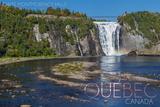 Quebec  Canada - Montmorency Falls