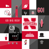 Nebraska Cornhuskers Collage