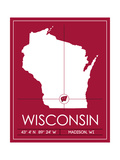 University of Wisconsin State Map