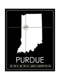 Purdue University State Map