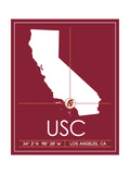 University of Southern California State Map