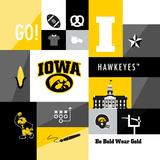 Iowa Hawkeyes Collage