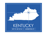 University of Kentucky State Map