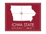 Iowa State University State Map
