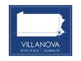 Villanova University State Map