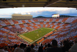 Checkered Neyland Stadium