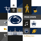 Penn State Nittany Lions Collage