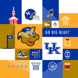 Kentucky Wildcats Collage