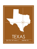 University of Texas State Map