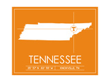 University of Tennessee State Map