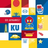 Kansas Jayhawks Collage