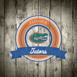 Florida Gators Logo on Wood