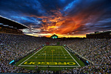 Oregon: Sunset over Autzen Stadium