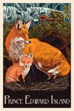 Prince Edward Island - Fox and Kit Letterpress