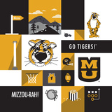 Missouri Tigers Collage