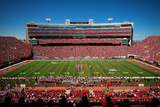 Nebraska: Blue Sky over Memorial Stadium