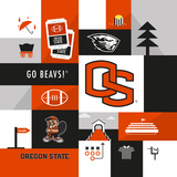 Oregon State Beavers Collage