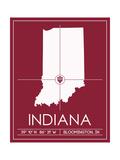 Indiana University State Map
