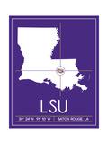 Louisiana State University State Map