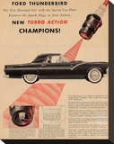 1955 Thunderbird-Turbo Action