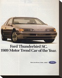 1989Thunderbird Car of the Year