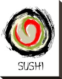 Abstract Sushi Roll