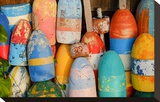 Colorful Lobster Floats Buoys