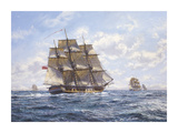 Before Trafalgar - RN Frigates Watch Off Cadiz