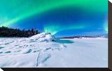 Intense Northern Lights Aurora