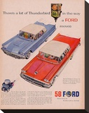 Ford 1958-A Lot of Thunderbird