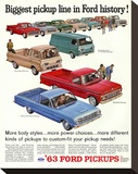 Ford 1963 Biggest Pickup Line
