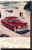 Lincoln 1950 - Beach Ad