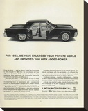Lincoln 1963 - Added Power