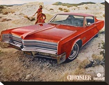 Red 1968 Chrysler