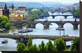 Vlatava Birdges in Prague