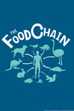 The Food Chain Snorg Tees Poster