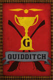 Quidditch Champions House Trophy Poster Print